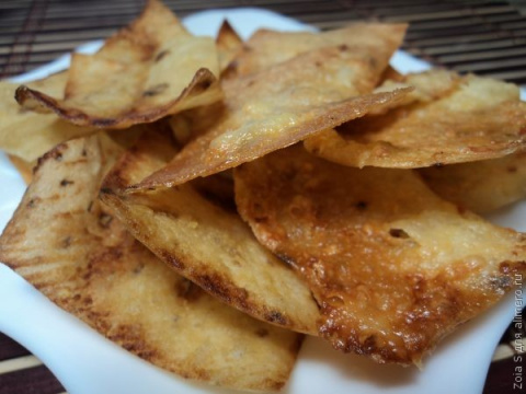 Домашние чипсы. 2 варианта