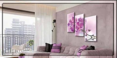 Украшаем дом картинами