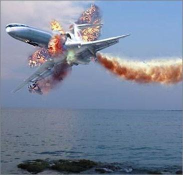 ИГ опубликовали видео сбитого самолёта
