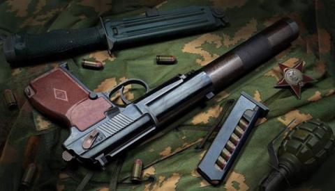 Пистолет бесшумный ПБ (6П9)