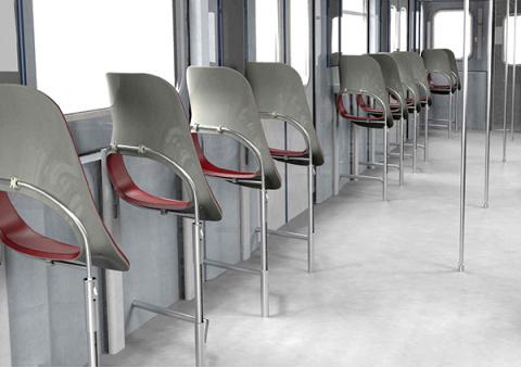 Располагайтесь поудобнее в общественном транспорте