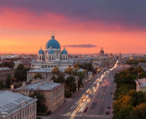 Санкт-Петербург глазами Сергея Дегтярёва