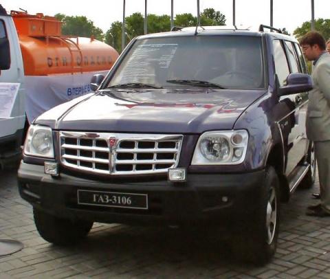 «Атаман-II»: комфортабельный внедорожник ГАЗ-3106