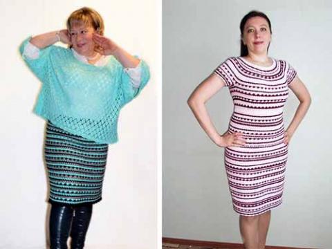 узор для вязания одежды крючком