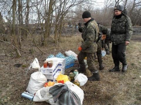 Украинские мародеры-освободители — Гиммлер нервно курит