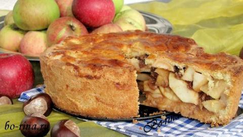 Десертный вихрь. Пироги с яблоками. Закрытый яблочный пирог