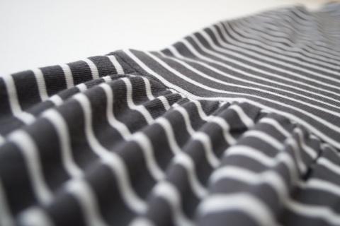 Идеальные сборки на ткани с помощью зубной нити