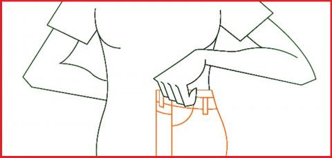 Как выбрать джинсы по размер…