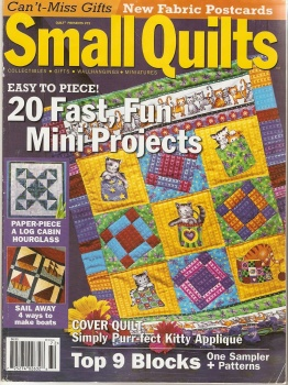 SMALL QUILTS №72 ЖУРНАЛ ПО РУКОДЕЛИЮ