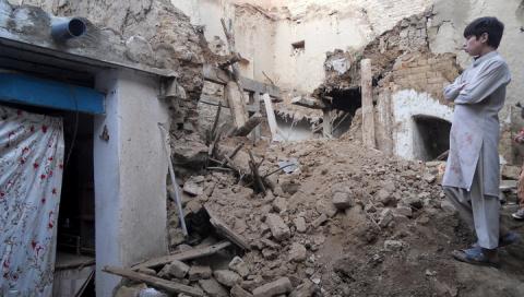 Землетрясение в Афганистане:…