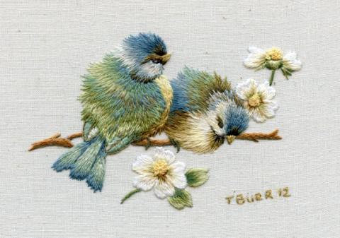 Вдохновляющая вышивка от Trish Burr