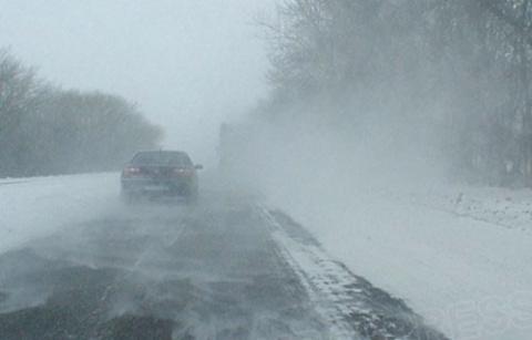 Как лучше всего управлять машиной в снегопад