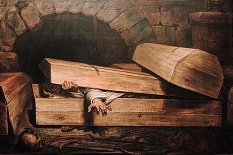 Четыре жуткие и правдивые истории о похороненых заживо