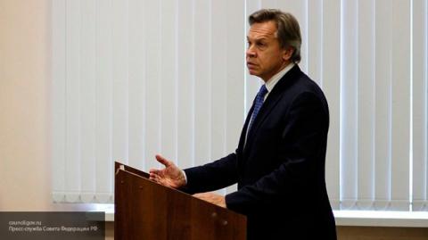 Пушков: первым ответом России на санции США дело не ограничится