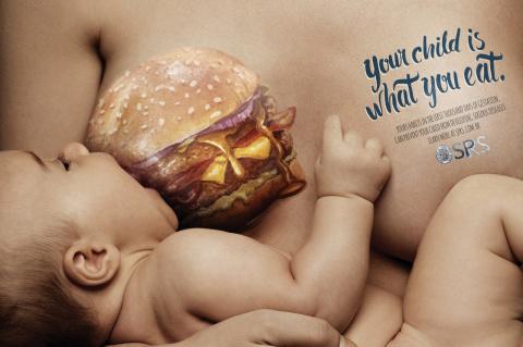 Твой ребенок это то, что ты ешь