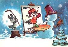 Новогодняя сказка про зайца …