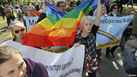 Украинские ЛГБТ-активисты с тревогой смотрят в будущее