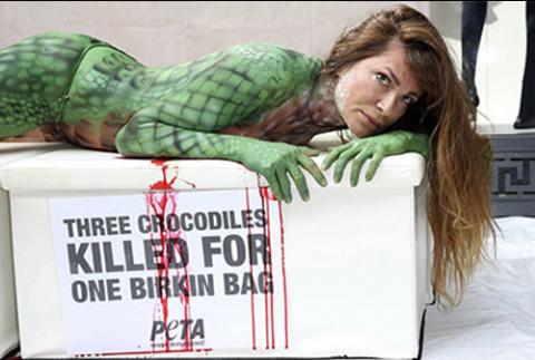 Сумки Birkin переименуют из-за скандала с мертвыми крокодилами