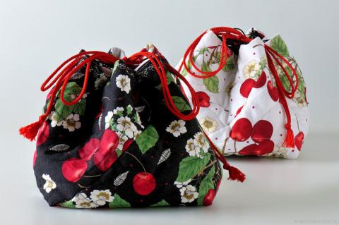 Шьём сумочку в японском стиле. МК