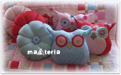 Лоскутное шитье. Детские подушки