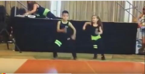 Сальса! дети танцуют супер!!!