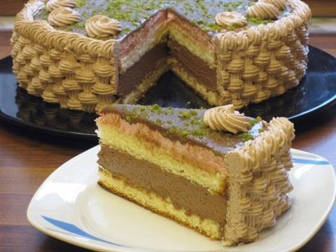Шоколадный мусс для торта