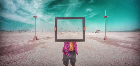 13 сюрреалистических фото из бескрайней американской пустыни