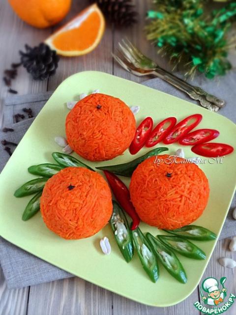 "Салат -закуска ""Апельсин"""