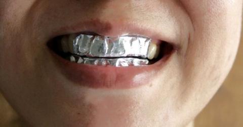 Фольга для отбеливания зубов