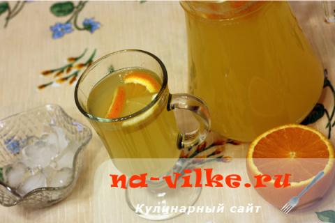 Лимонад из лимонов и апельсинов