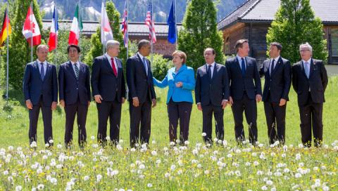 Китай вступился за Россию на G7