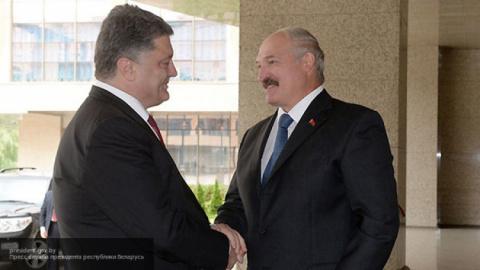 Лукашенко и Порошенко посетя…