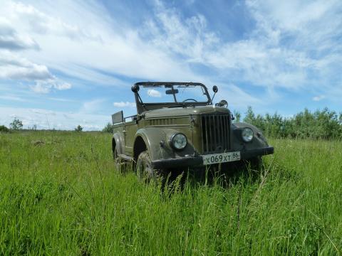 Обзор автомобиля ГАЗ 69.( у Лужкова тоже есть)