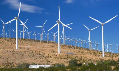 Гройсман похвалился дюжиной ветряных электростанций в Херсонской области