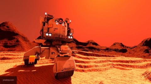 Ученые обнаружили, что на Марсе по ночам идет снег