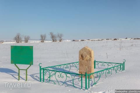 Кладбище деревни Старый Менгер