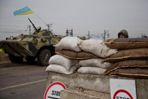 Украина подвела к границам России тяжелую военную технику