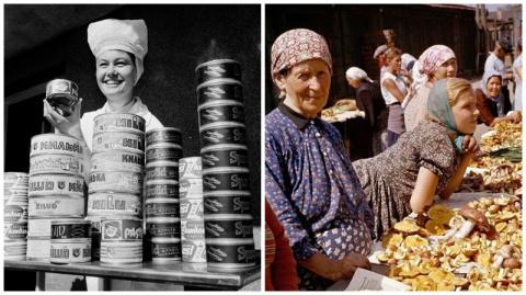 Рынки Советского Союза: было…