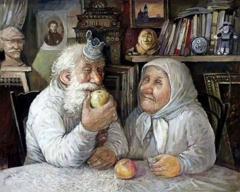 Счастливые бабушки и дедушки…