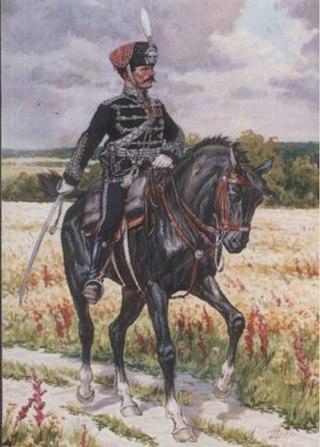 Чёрные гусары в Российской империи
