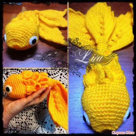 Исполни желание, рыбка!
