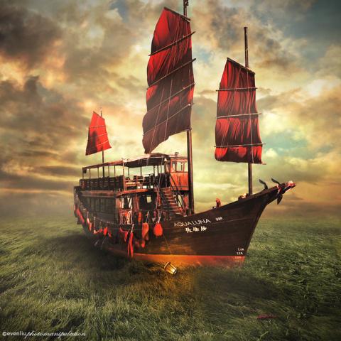Необычные фото-иллюстрации Even Liu