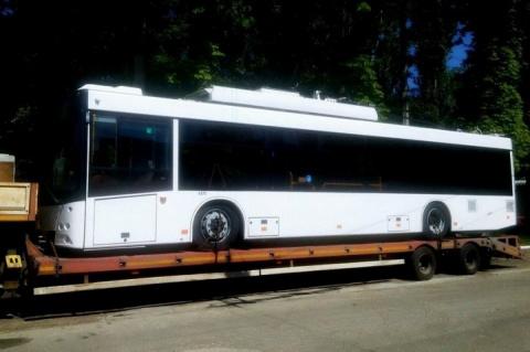 В Симферополе до конца года запустят 111 новых троллейбусов
