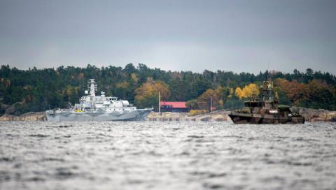 СМИ: судно, принятое шведами…