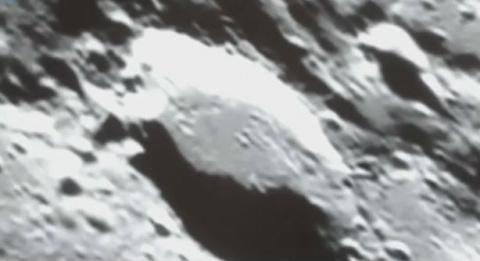 Астроном-любитель записал на видео инопланетянина на Луне