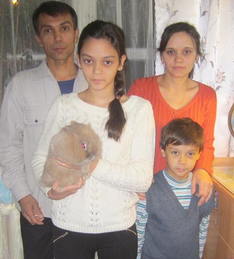 Маленький кролик спас от гибели целую семью