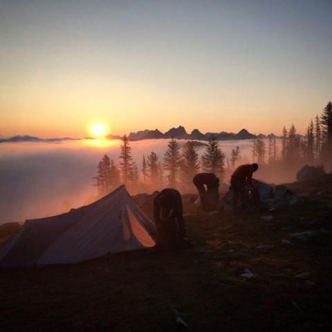 Обустройство лагеря