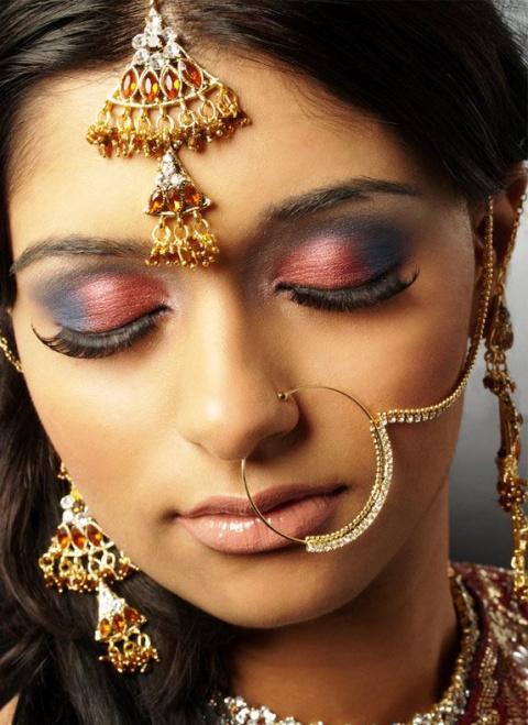 Невероятно красивые индийские невесты