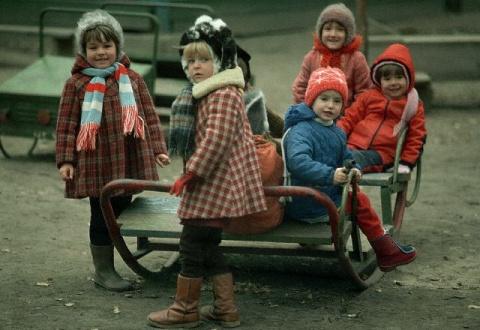 Очередная подборка фотографий времён СССР