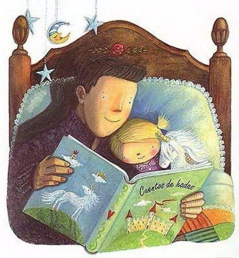 Почему полезно читать детям на ночь